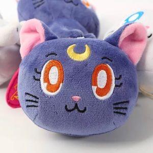 Keychain Moon cat ( Sailor  Moon)